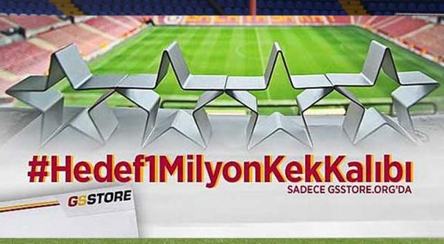 Galatasaray'da kek kalıpları satışta!