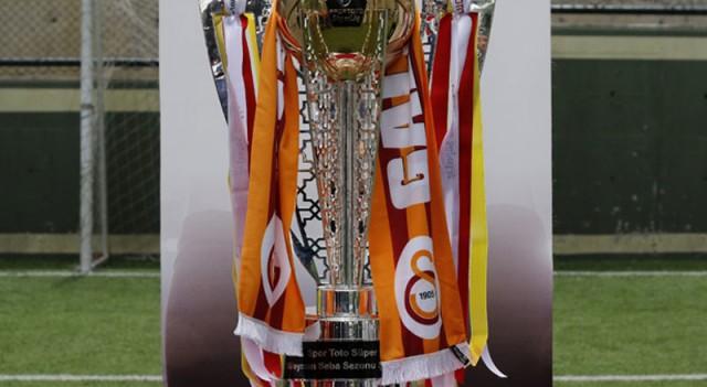 İşte Galatasaray'ın şampiyonluk kupası