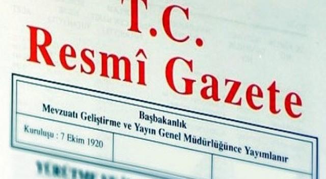Atama kararları Resmi Gazete'de yayınlandı