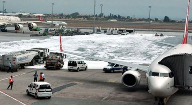 Atatürk Havalimanı'nda büyük panik!