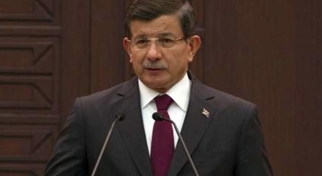 Başbakan Davutoğlu'ndan geçici hükümet açıklaması