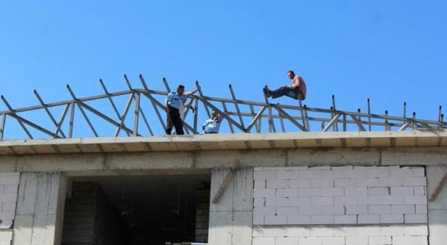 2 aylık ücretini alamayan inşaat işçisi intihar girişiminde bulundu