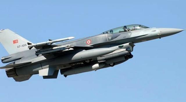 Türk uçakları kısa süre içinde vuracak