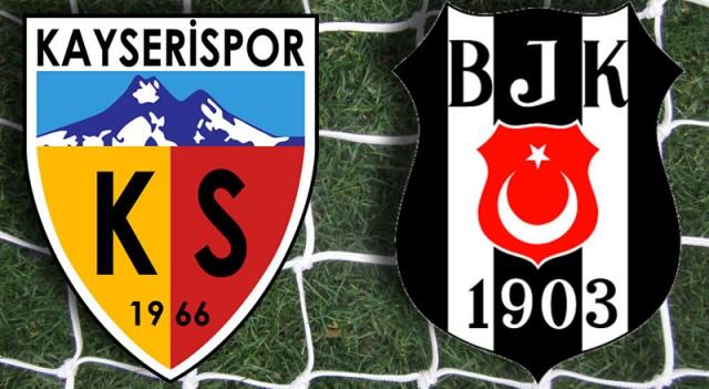 Kayserispor - Beşiktaş (((CANLI ANLATIM)))