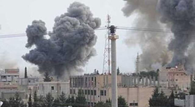 Şam'da hava saldırısı: 12 ölü, 30 yaralı