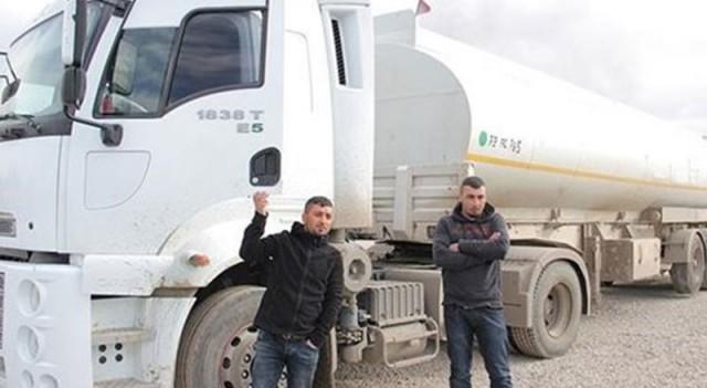 Tanker şoförlerinden Rusya'nın iddialarına yalanlama
