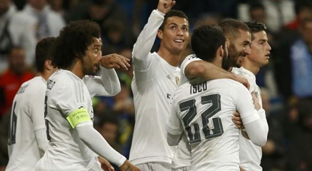 Real Madrid:8 Malmö:0