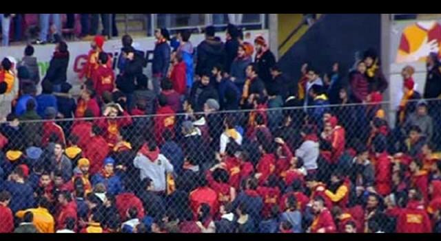 Galatasaray taraftarı sırtını döndü!