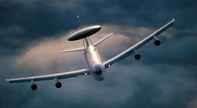 Türk hava sahasına NATO 'kontrolü'
