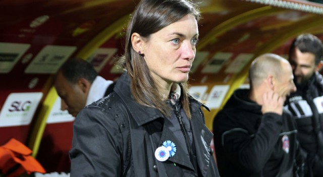 Avrupa profesyonel liglerinin tek kadın teknik direktörü...