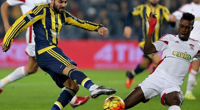 Fenerbahçe:2 Medicana Sivasspor:1   Spor Toto Süper Lig Maç Özeti