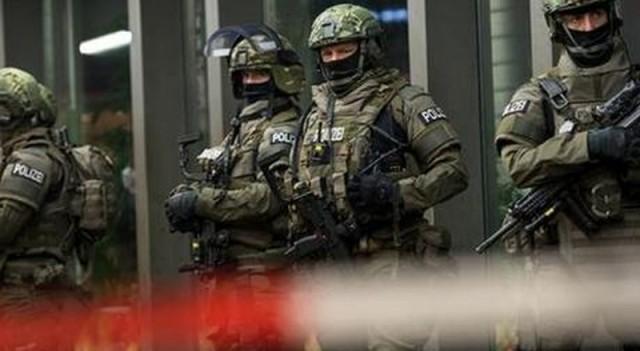 Alman polisi şüphelileri arıyor