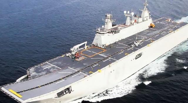 Donanmanın yeni amiral gemisi