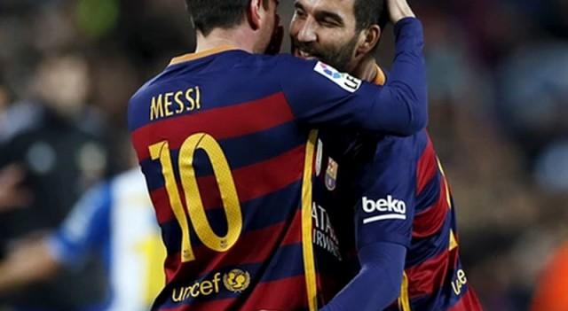 Ve Arda Turan açıkladı! 'Messi kulağıma...'