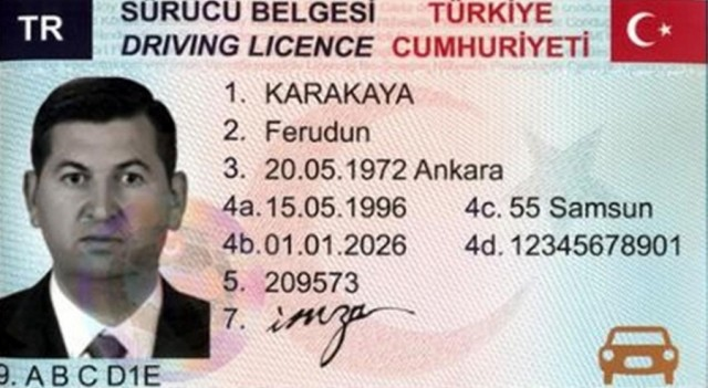 Yeni sürücü belgelerinin dağıtımı başladı