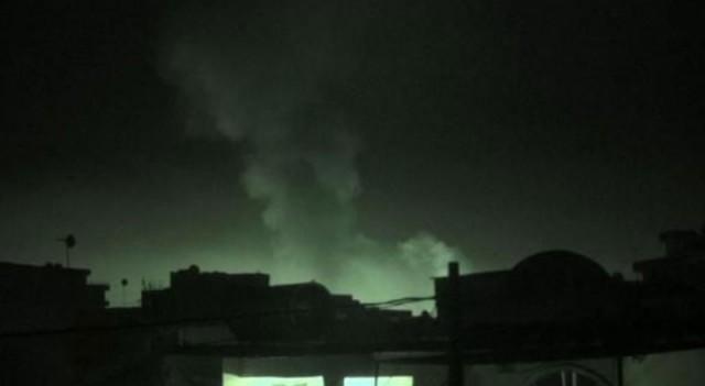 Cizre'de 30 TIR alev alev yandı