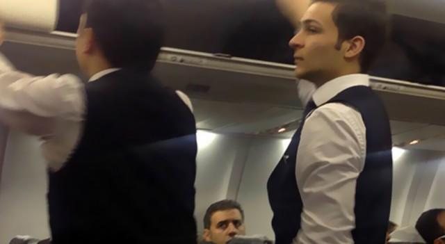 Diyarbakır uçağında 'silah' paniği!