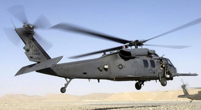 İki askeri helikopter çarpıştı!