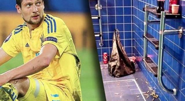 EURO 2016'da büyük rezalet! Soyunma odasında...