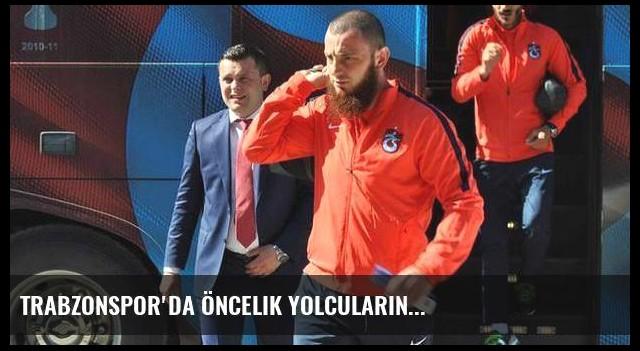 Trabzonspor'da öncelik yolcuların...