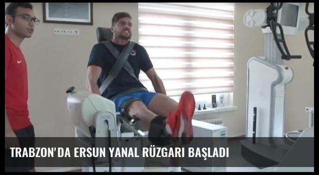 Trabzon'da Ersun Yanal rüzgarı başladı