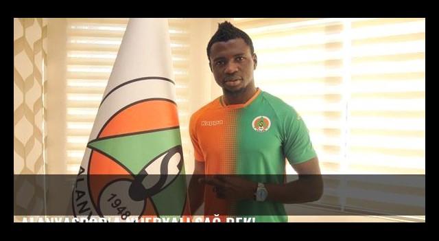 Alanyaspor'a Nijeryalı sağ bek!