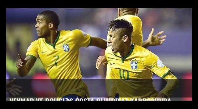 Neymar ve Douglas Costa olimpiyat kadrosunda