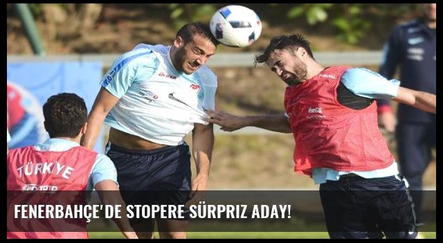 Fenerbahçe'de stopere sürpriz aday!