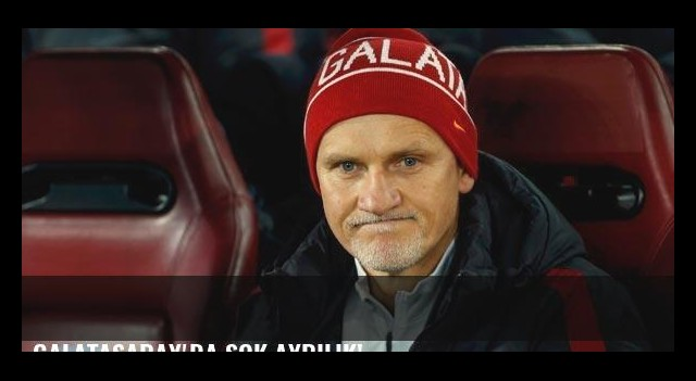 Galatasaray'da şok ayrılık!