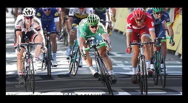 16. etabı Peter Sagan kazandı