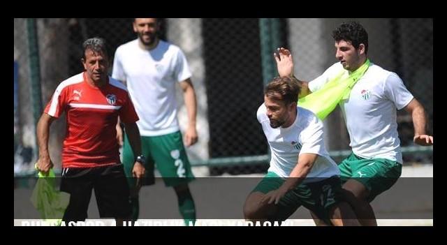 Bursaspor 4 hazırlık maçı yapacak!