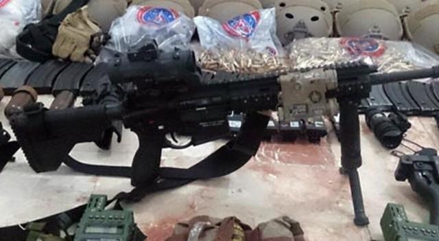 Kaçan darbeci askerlerin silahları ele geçirildi