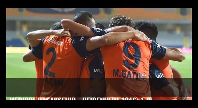 Medipol Başakşehir - Heidenheim 1846: 1-0