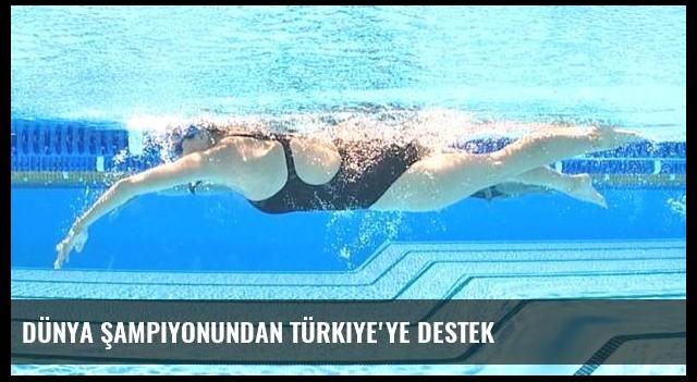 Dünya şampiyonundan Türkiye'ye destek