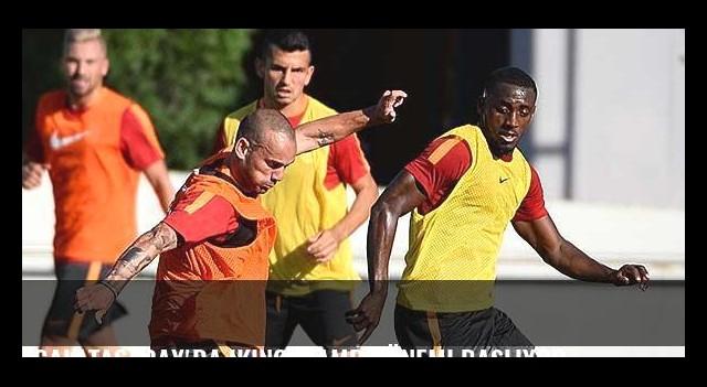 Galatasaray'da ikinci kamp dönemi başlıyor