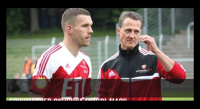 Schumacher onuruna futbol maçı!