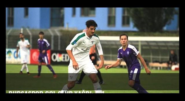 Bursaspor gol olup yağdı: 6-1