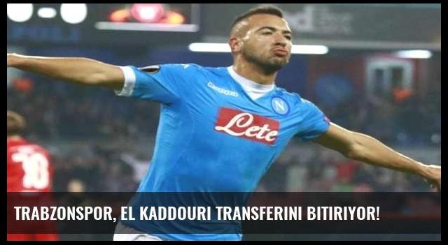 Trabzonspor, El Kaddouri transferini bitiriyor!