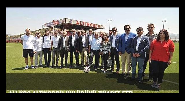 Ali Koç Altınordu Kulübünü ziyaret etti