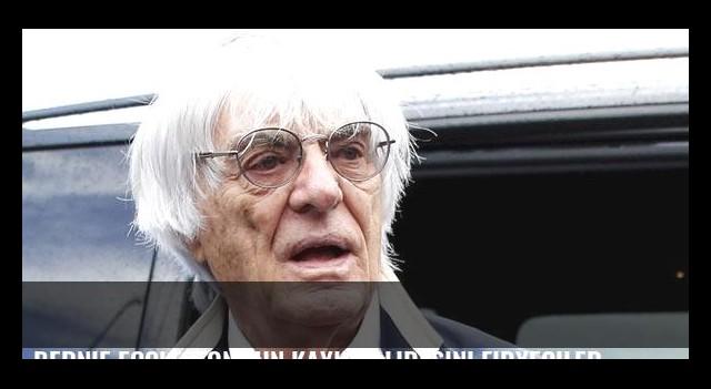 Bernie Ecclestone'un kayınvalidesini fidyeciler kaçırdı