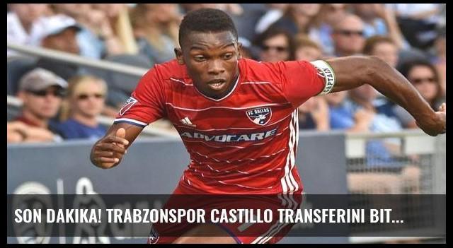 Son dakika! Trabzonspor Castillo transferini bitirdi!
