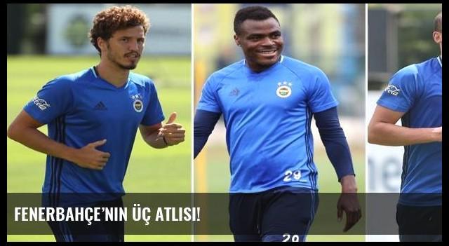 Fenerbahçe'nin üç atlısı!