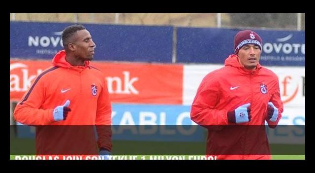 Douglas için son teklif 1 milyon euro!