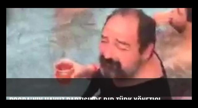 Pogba'nın havuz partisinde bir Türk yönetici