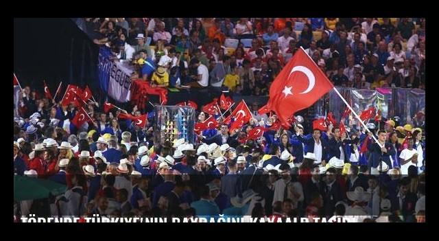 Törende Türkiye'nin bayrağını Kayaalp taşıdı