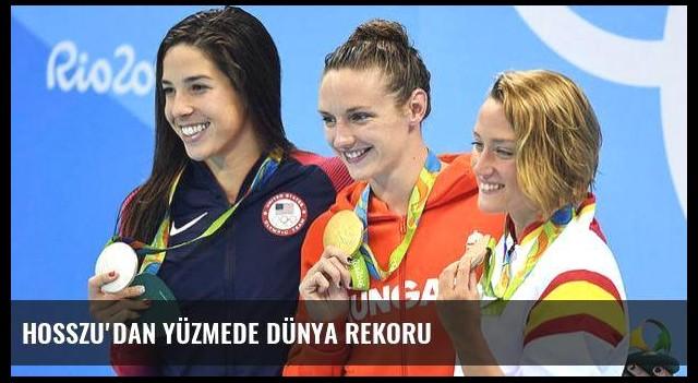 Hosszu'dan yüzmede dünya rekoru