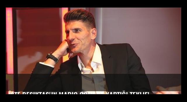 İşte Beşiktaş'ın Mario Gomez'e yaptığı teklif!