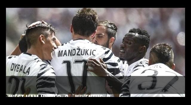 West Ham United: 2 - Juventus: 3
