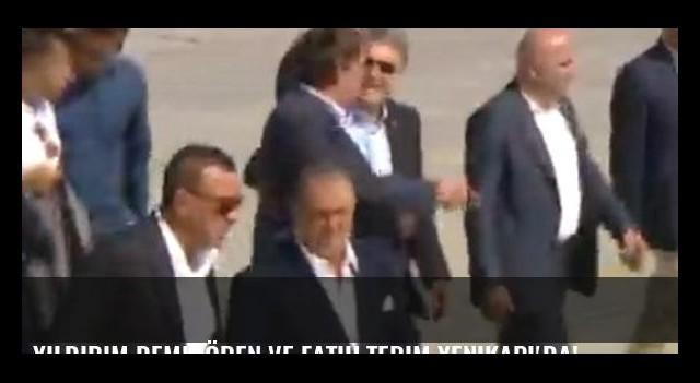Yıldırım Demirören ve Fatih Terim Yenikapı'da!