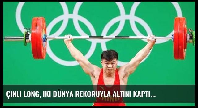 Çinli Long, iki dünya rekoruyla altını kaptı